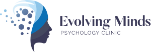 Evolving Minds Psychology Clinic logo